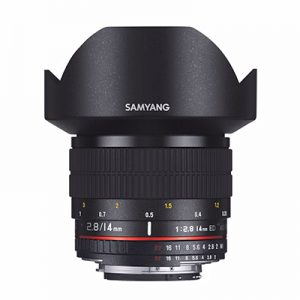 Samyang 14mm 2.8 MF Nikon Vidvinkel objektiv
