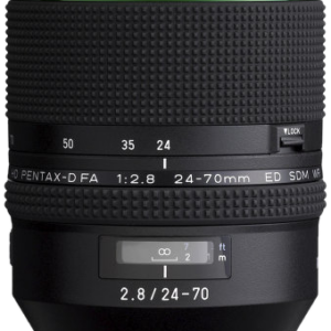 Pentax HD D FA 24-70mm f/2.8 ED SDM WR with Case